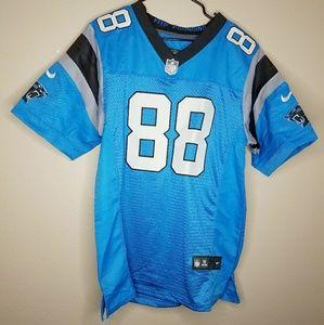 Nike Panthers NFL Olsen 88 Blue Sports Jersey